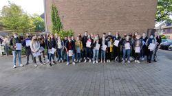 Die Teilnehmerinnen und Teilnehmer am geva-Test 2020