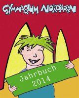 Titelbild des Jahrbuchs 2014 des Gymnasiums Nordhorn