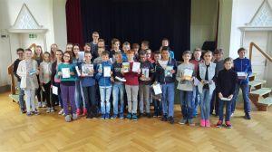 Die Känguru-PreisträgerInnen des Gymnasiums Nordhorn.