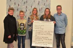 Die Klimamanger am Gymnasium Nordhorn bei Frau Woltmann.