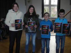 1. Nordhorner Mathenacht am Gymnasium Nordhorn - Sieger Klasse 7e