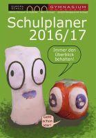 Der Schulplaner 2016/2017 des Gymnasiums Nordhorn.