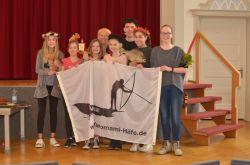 Christina Haverkamp von der Yanomami-Hilfe am Gymnasium Nordhorn